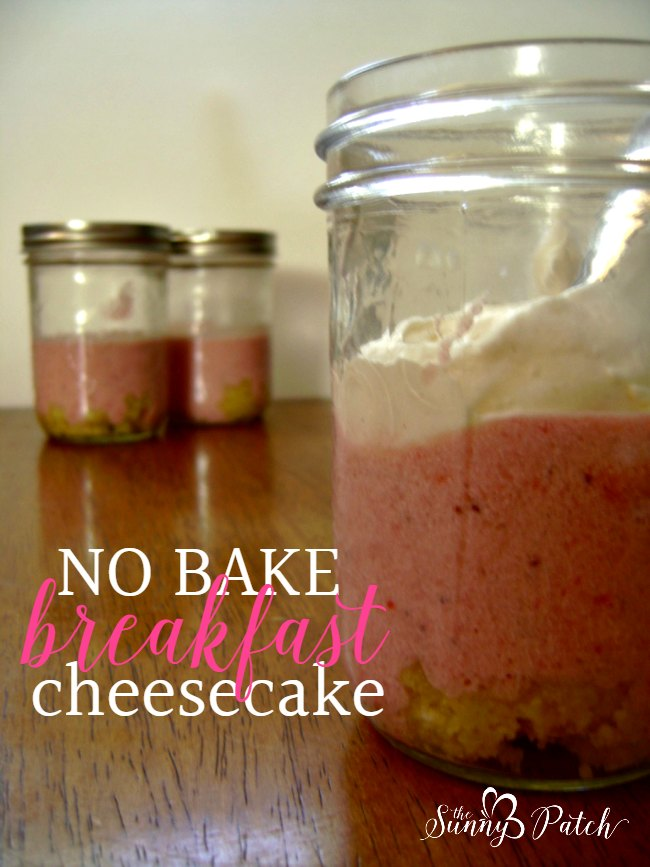 no bake breakfast cheesecake