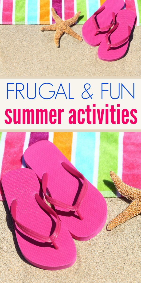 There's no need to bust the bank to have fun with your family this summer. Check out this list of frugal summer fun ideas. Save money and have some fun with these family activities.