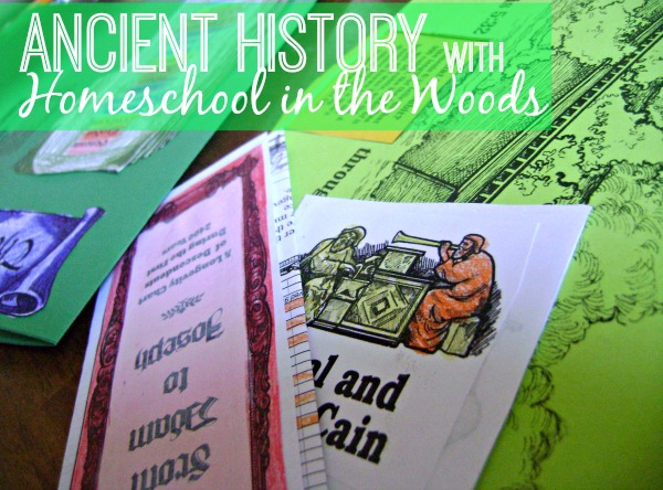 Take a look at how we're studying history with products from Homeschool in the Woods.