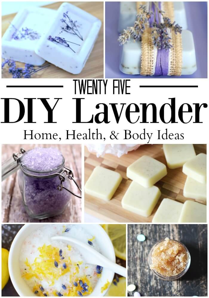 Lavender is one of my favorite essential oils. These 25 DIY lavender essential oil projects will show you just how versatile lavender essential oil can be.