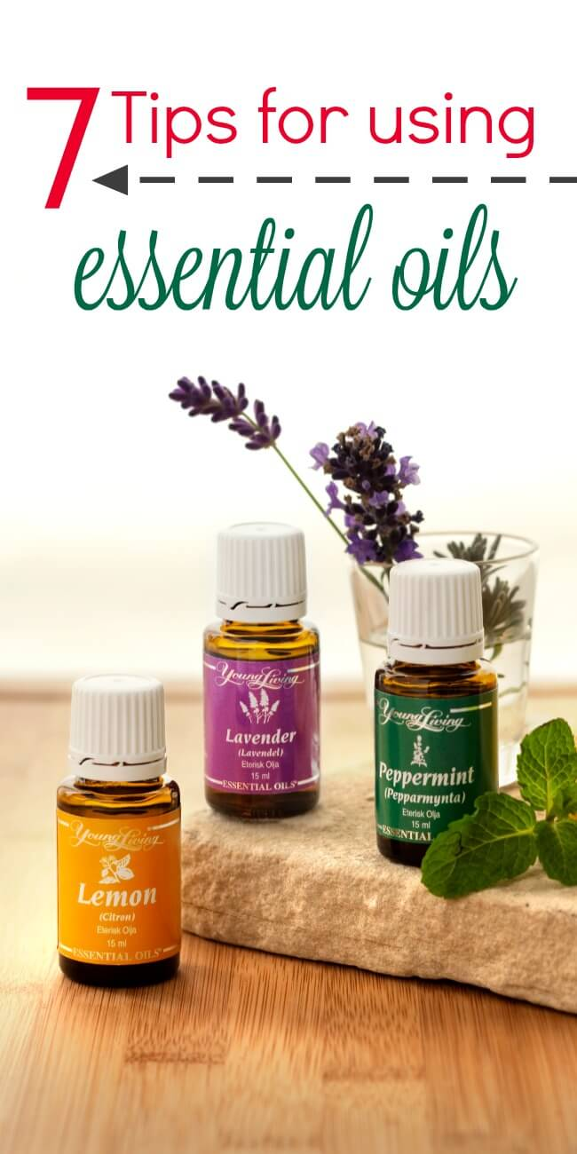 Using essential oils can feel overwhelming at first. These 7 tips for using essential oils will make you a confident user in no time!