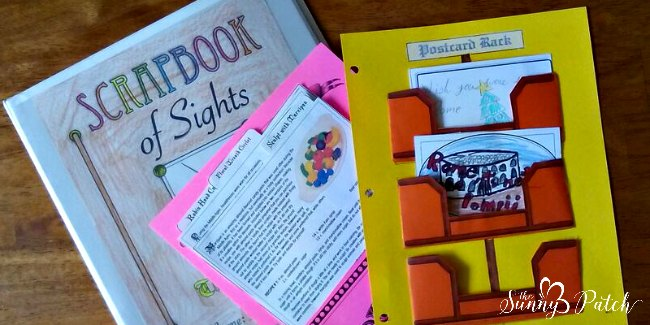 project passport scrapbook projects