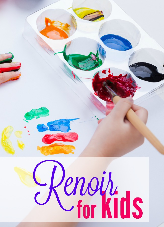 Art study is a fun family project and February is the perfect time to learn about Renoir. Use these resources to learn about Renoir for kids.