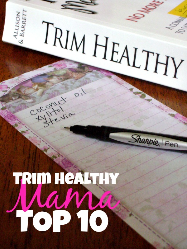 Not sure what to add to your Trim Healthy Mama shopping list? Here's a list of the 10 ingredients I like to have in my THM pantry.