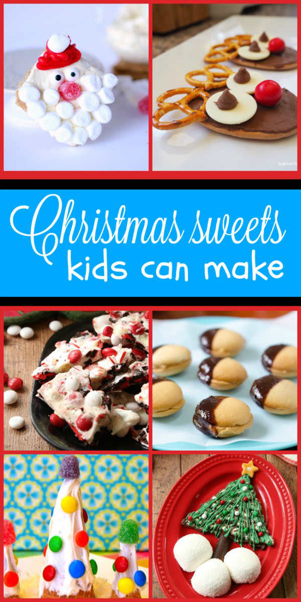 simple no bake christmas sweets kids can make