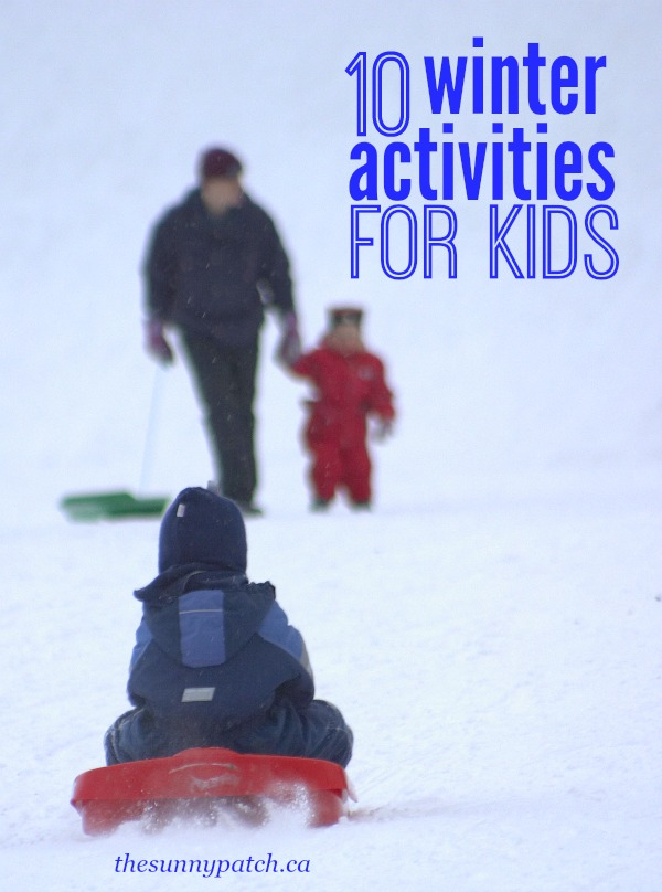 Fun winter activities for kids! Unique winter activities for families and children that will keep you from being bored on those cold winter days.