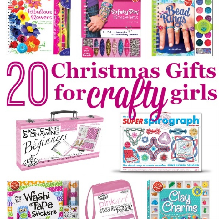 20 Christmas Gift Ideas For Crafty Girls Happy Homeschool Nest