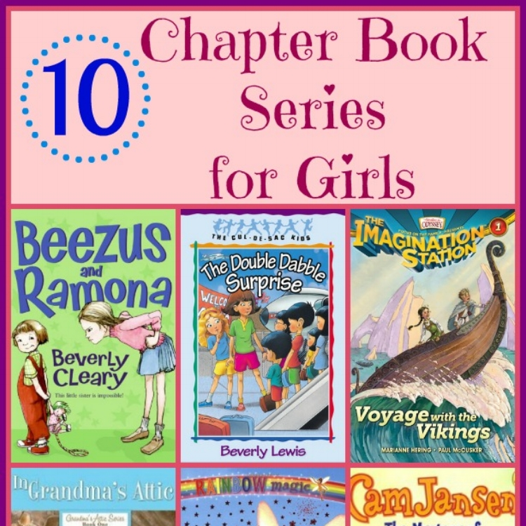 What I Blog About When I Blog About Books Notd Girl On: 10 Favorite First Chapter Books For Girls