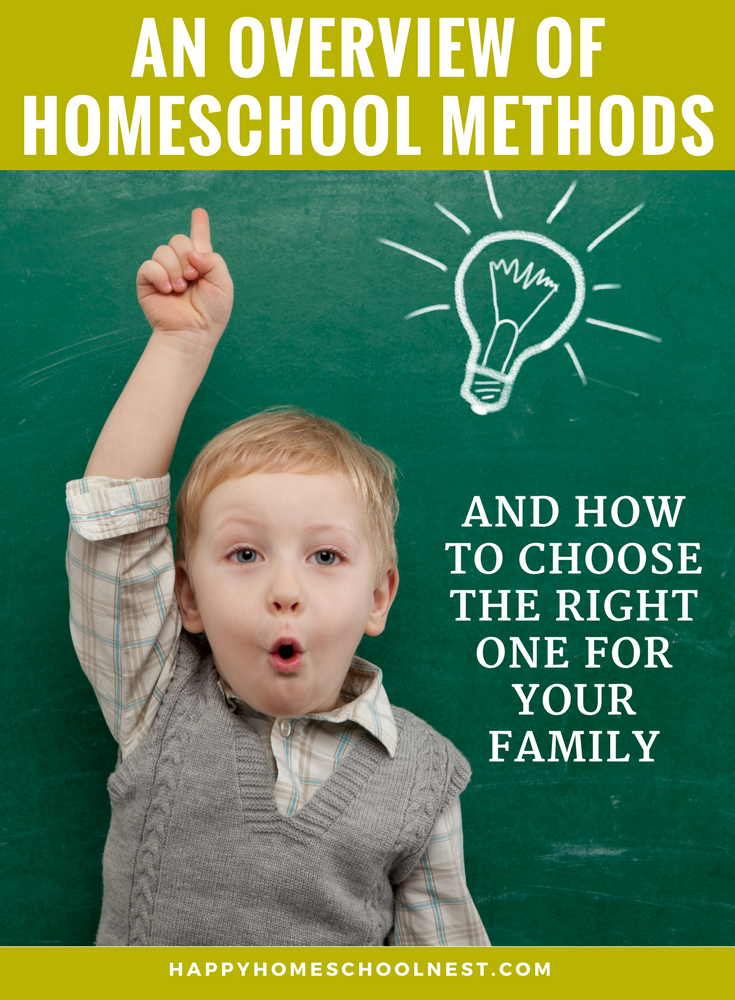 Understanding different homeschool methods and how they can work together will make you more confident about homeschooling. Learn all you need to know about choosing the right homeschooling methods for your family.