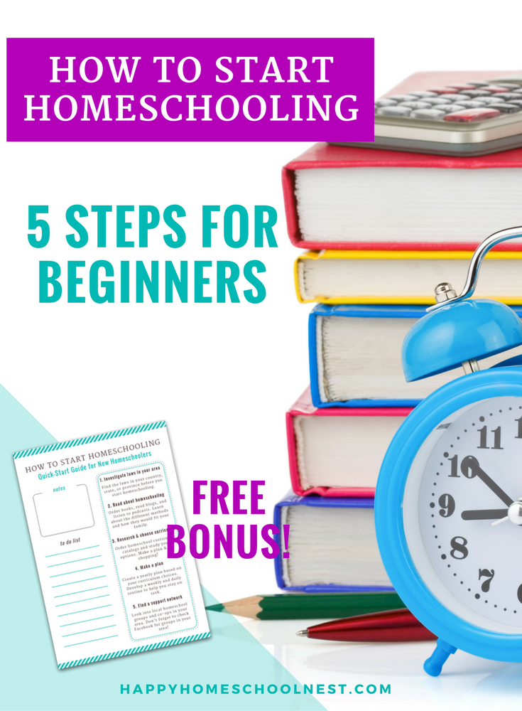 Getting started in homeschooling can be a little bit overwhelming at first - that's why it's so important to start with a few homeschool and household systems in place! Learn how to start homeschooling and the most important tips and steps for getting started.