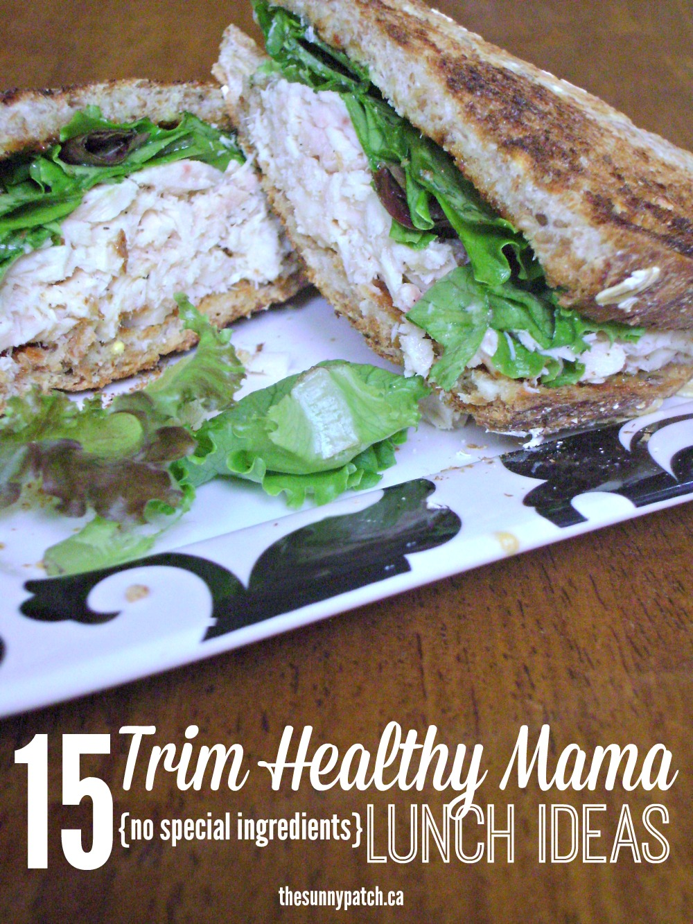 graphic regarding Trim Healthy Mama Printable Food List called Slim Wholesome Mama: Lunches no exclusive substances Content