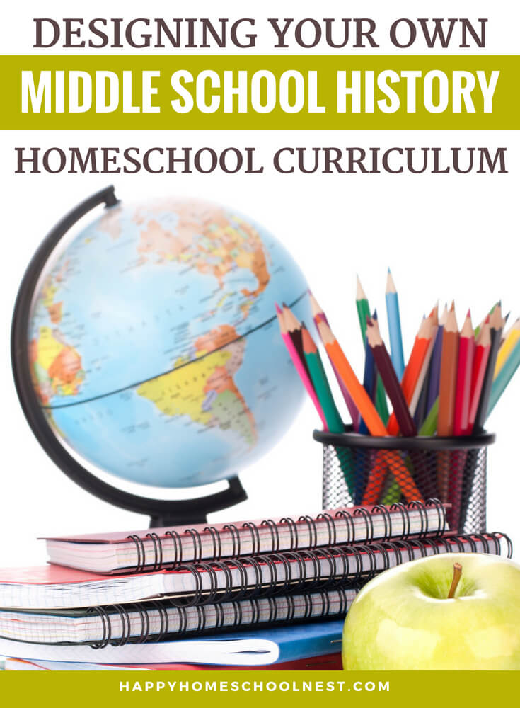 Middle school is a great time to dive deep into history. Kids this age are ready to move beyond simple stories and history projects to more in-depth studies and discussions. And, with a few simple tools, it's possible to easily create your own middle school history curriculum - perfectly suited for your children.