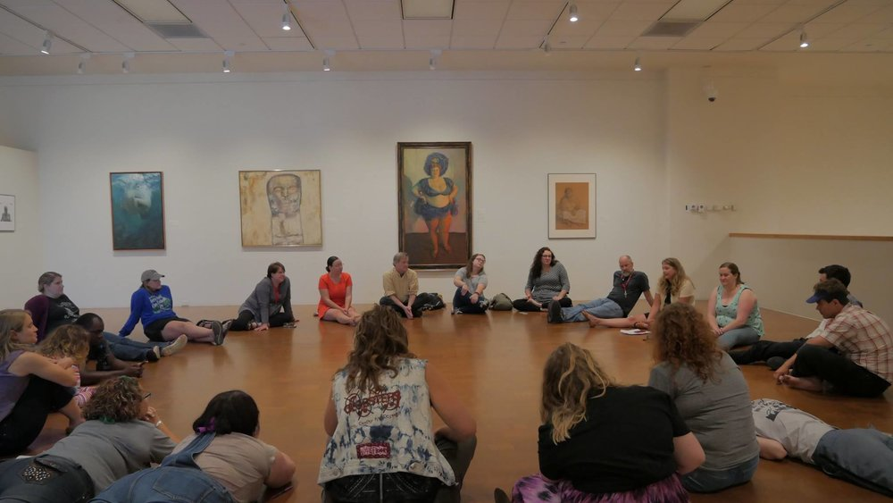 Story circle at the UK Art Museum convening during Lexington Community Intensive, June 25 2017, photo by tim morton.jpg