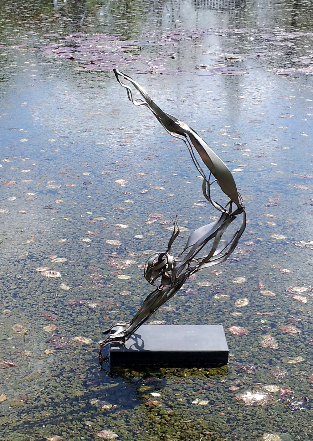 Flying Gymnast | 101cm x 50cm x 20cm Stainless Steel