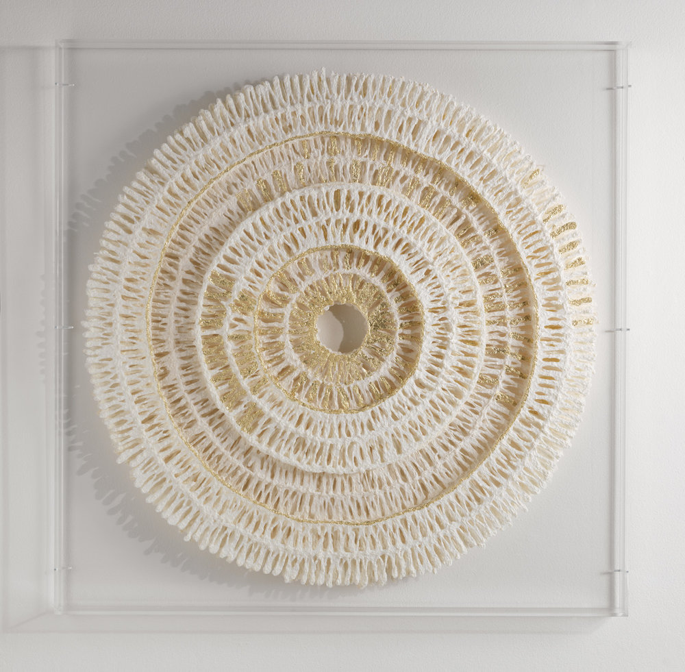 Circles | Medium | 100cm x 100cm Plant Fibre