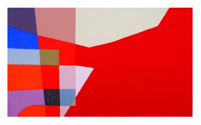 Red Intersection | 85cm x 51cm Screenprint
