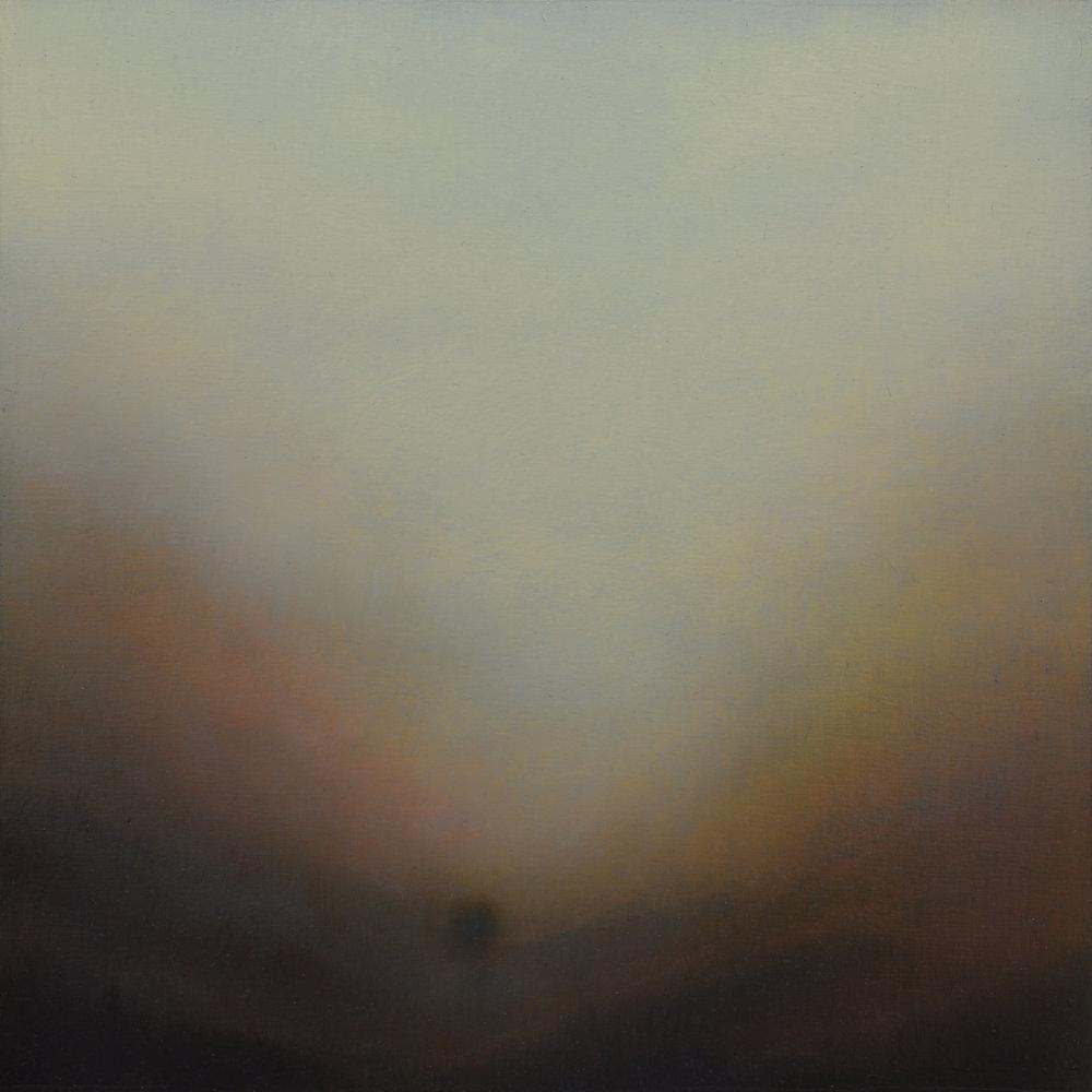 Cusp Of Forever | 40cm x 40cm Oil on Panel (Framed)