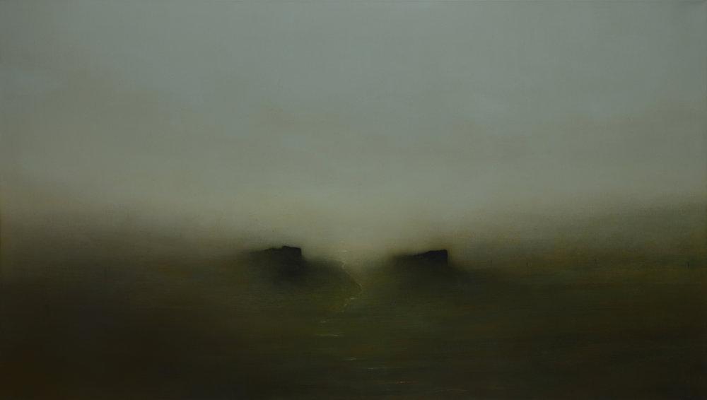 Forgotten Lands | 200cm x 115cm Oil on Canvas