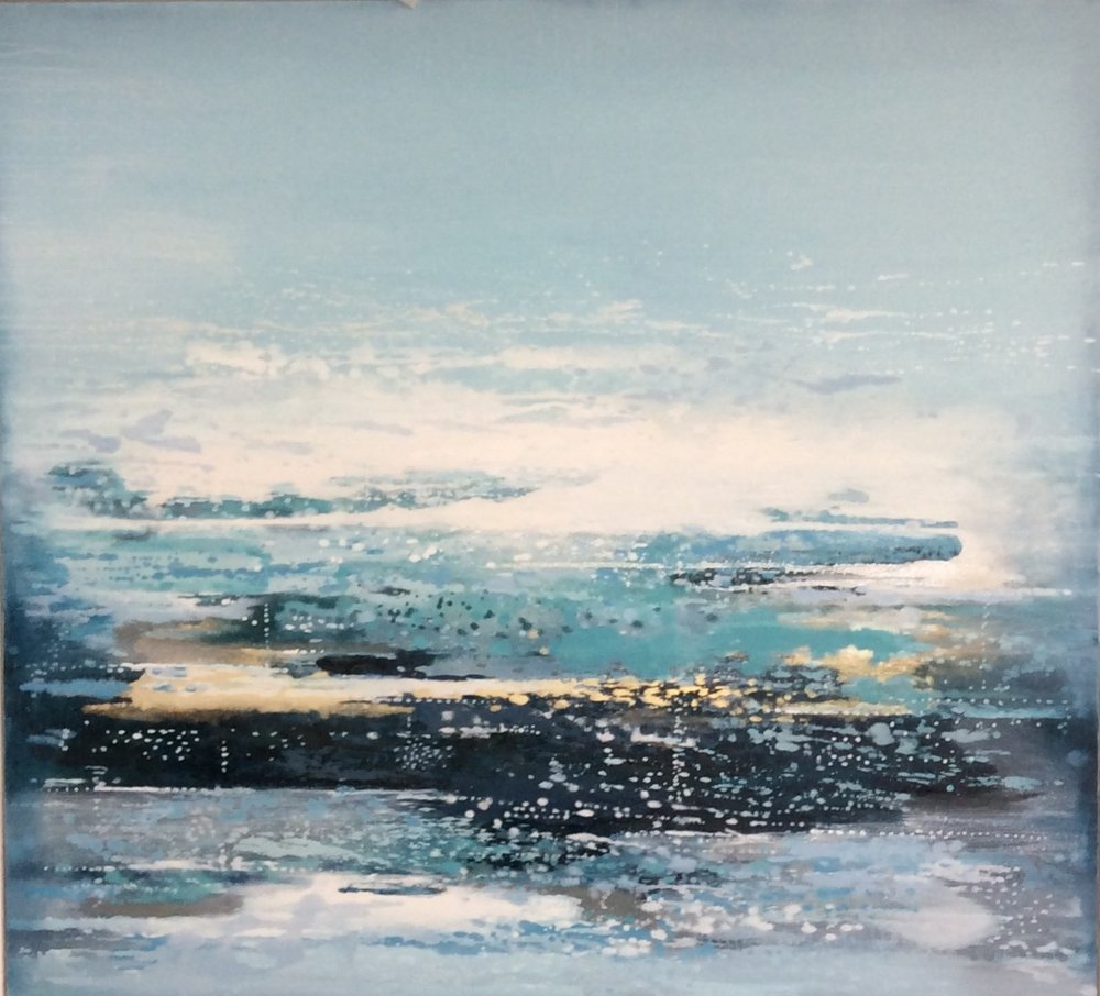 Atlantic Tide | 123cm x 113cm Oil on Canvas