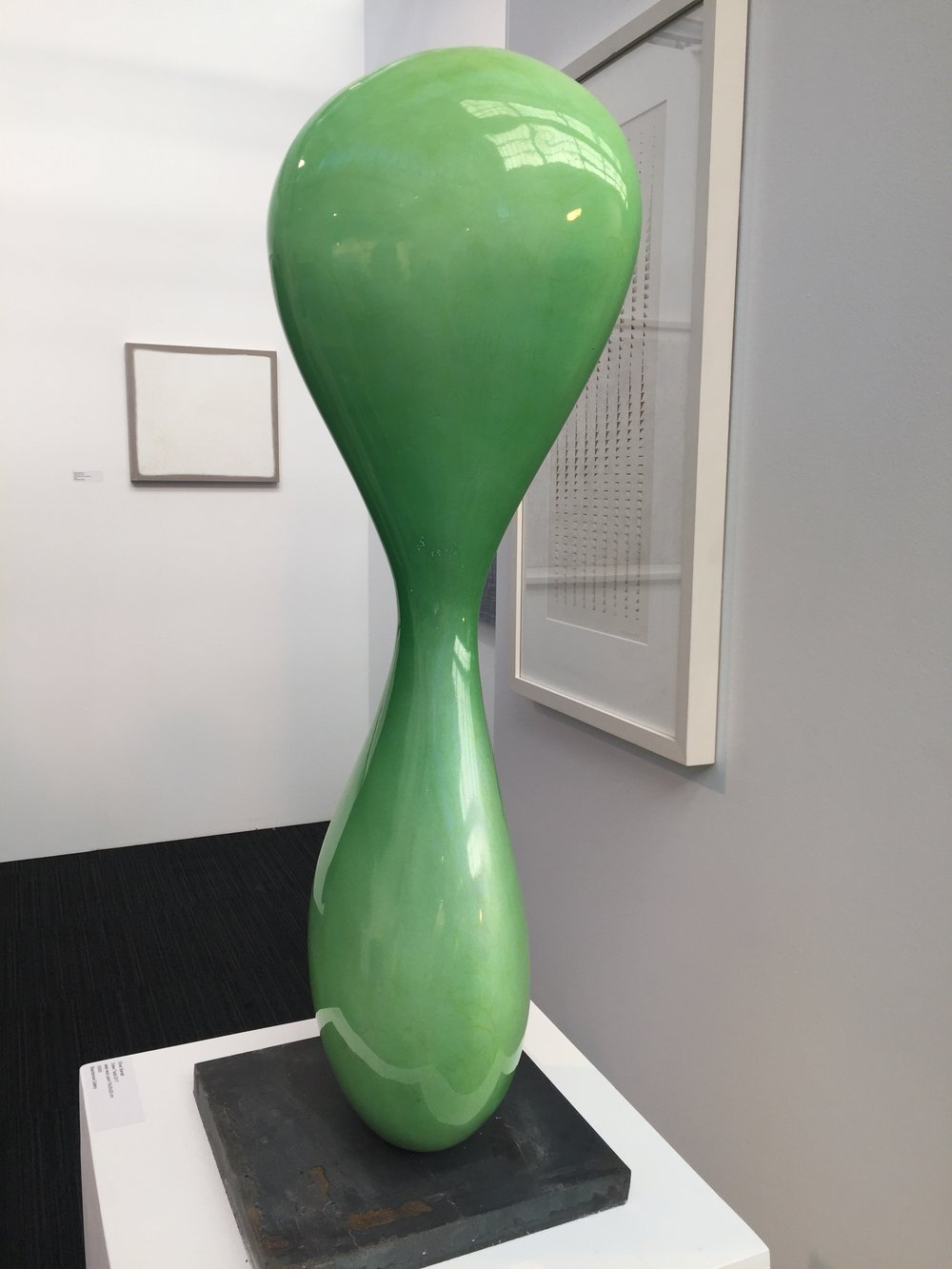 Oliver Barratt's 'Green Twist' @ Beardsmore Gallery.