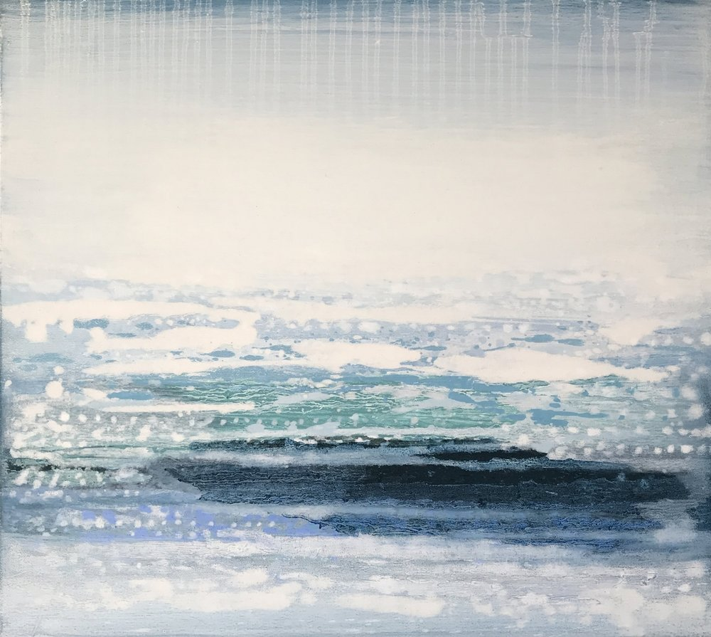 Atlantic Tide I | 53cm x 48cm Oil on Canvas