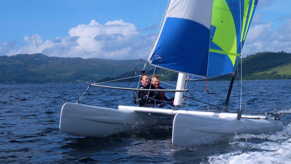 Laser Dart Catamarans
