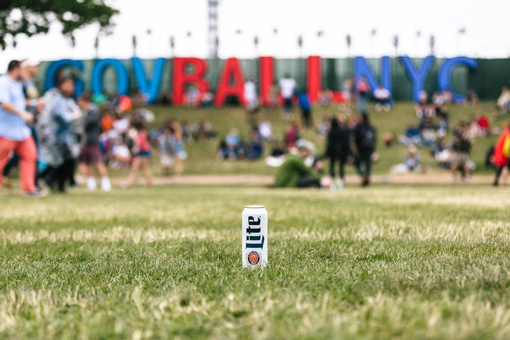 Miller Lite x Governors Ball Music Festival