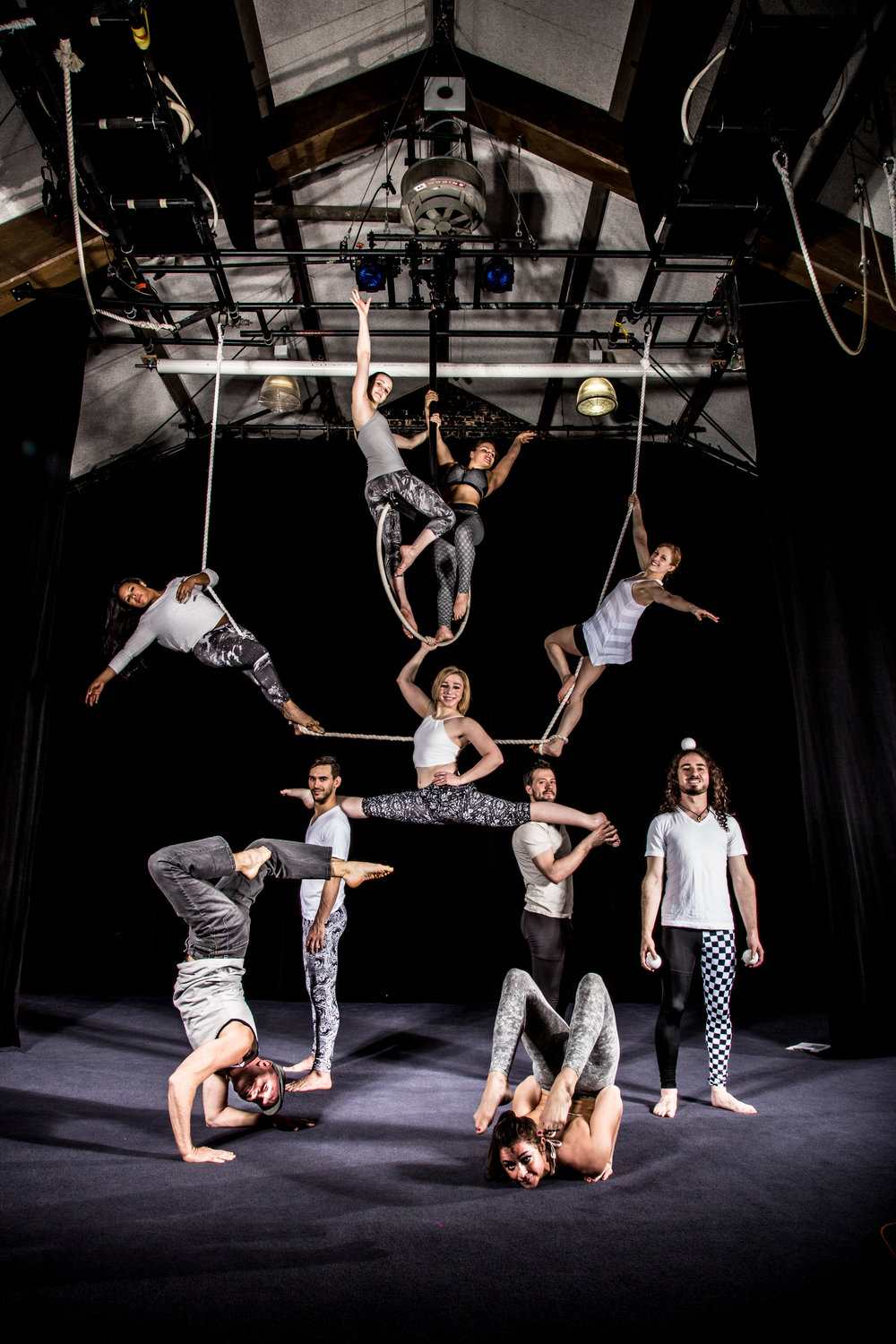 2016 Actors Gymnasium Professional Circus Program Photo courtesy of Cole Simon