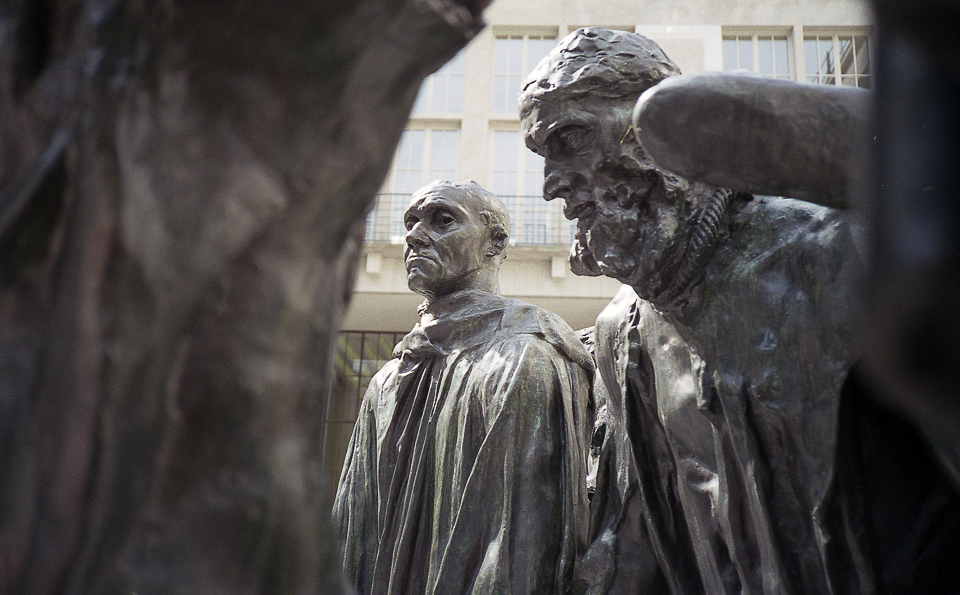 Rodin's 'The Burghers of Calais'