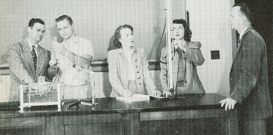 Science Lab 1952