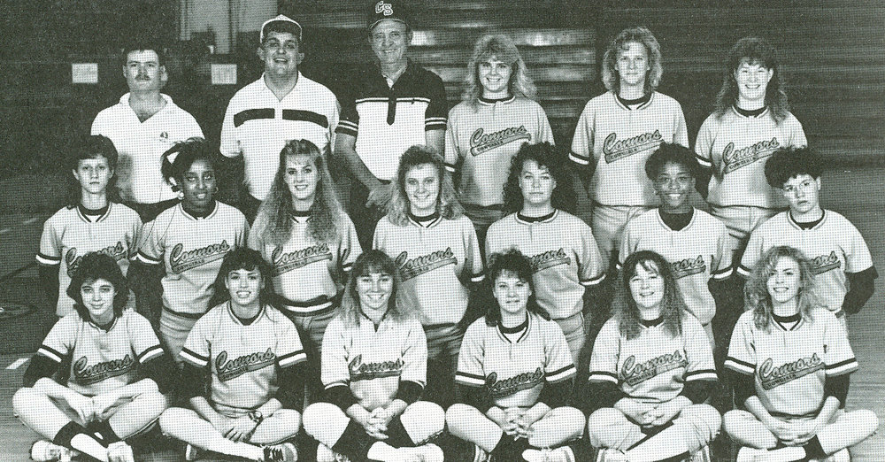 Clarence Lynch coached the first collegiate softball team in 1987.
