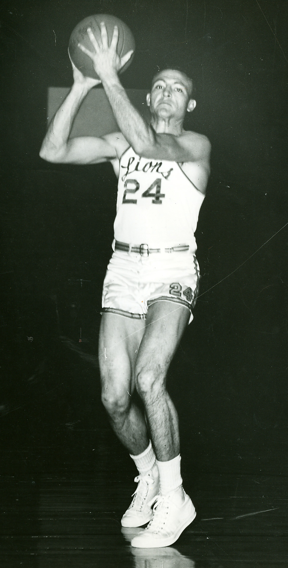 Clarence Lynch at ETSU 1953-1954