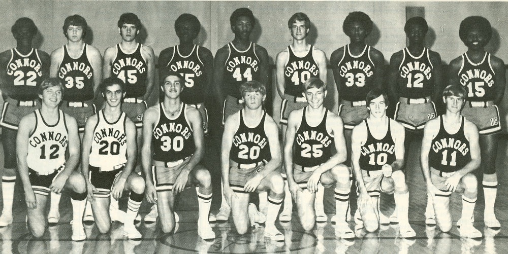 Men's Basketball Team 1974-75