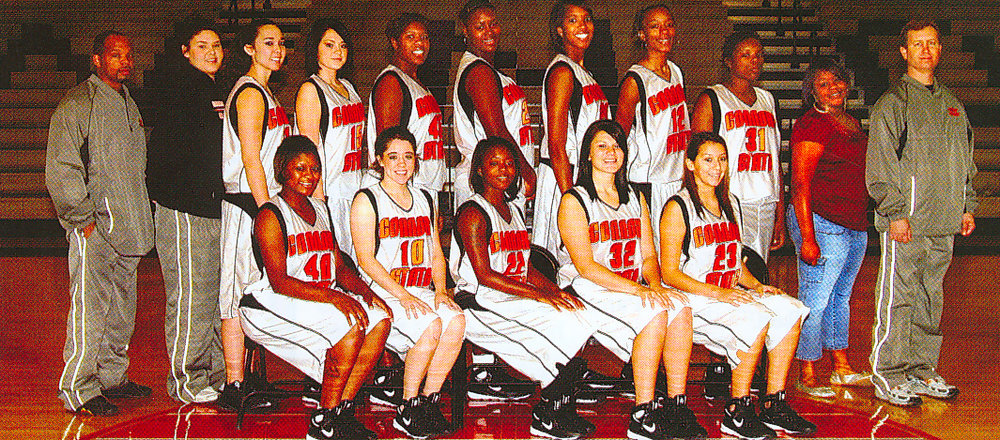 Cowgirls Team. 2008-09.