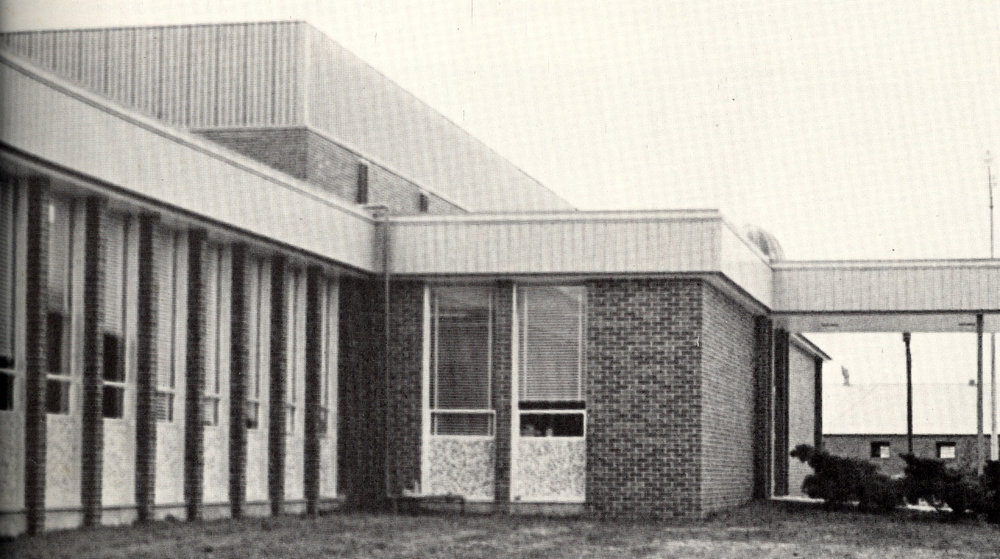 Melvin Self Field House, 1972.