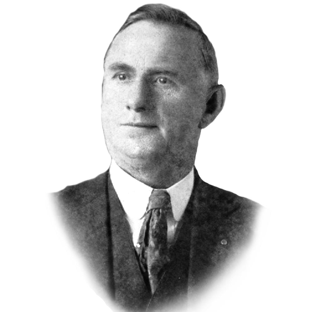 Hiram C. King, Superintendent, 1918-1933.