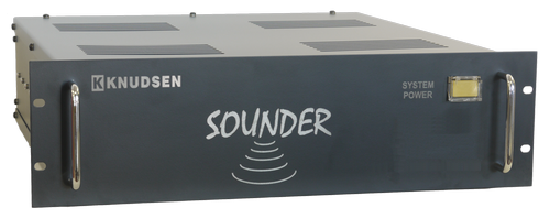 Knudsen Rack mount Single Beam Echosounder