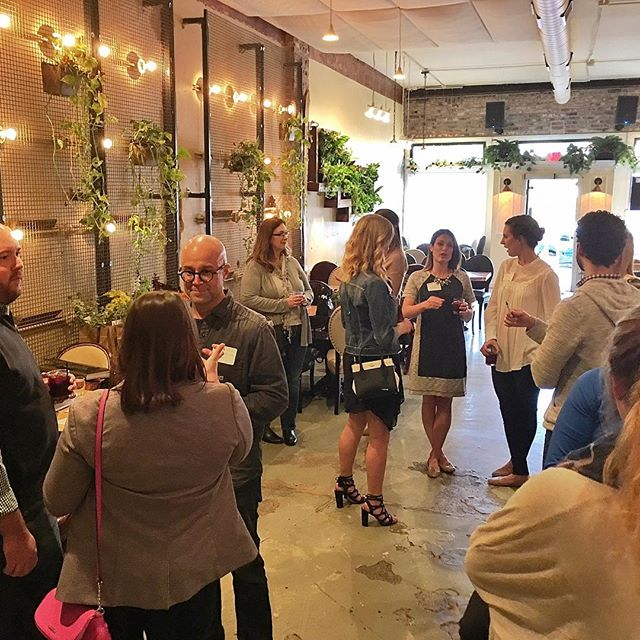 We offer an inspiring environment for meetings and social events! Thanks @marketermarisa for choosing us! ・・・ Thank you to everyone who came to learn more about the BMA Board of Directors! Being surrounded by such positive, enthusiastic energy is beyond inspiring. #goodvibesonly . . . #stl stlouis #meeting #mixitup #socialize #collaborate #business #businessmeeting #inspiration #sgrand #southgrand