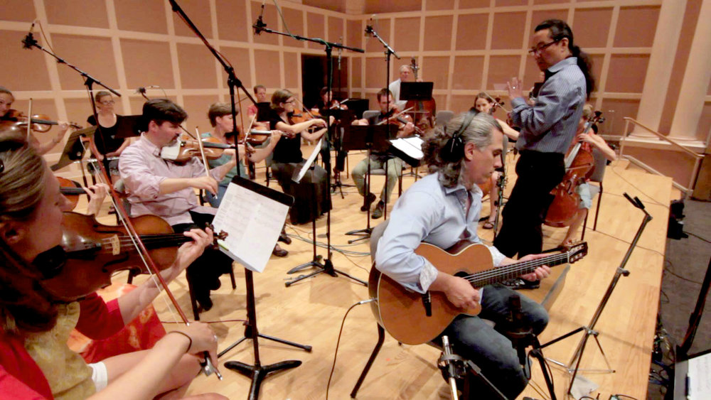 Recording Session for No Goodbyes, Craig Hara conducting, August 21, 2014