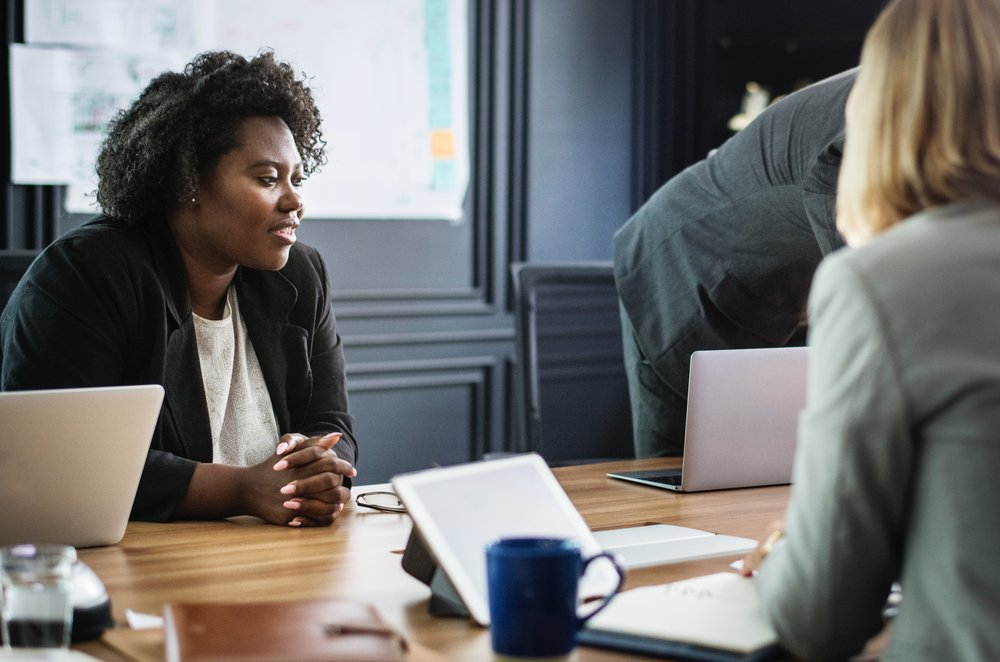 Offer yourself self-compassion during meetings -