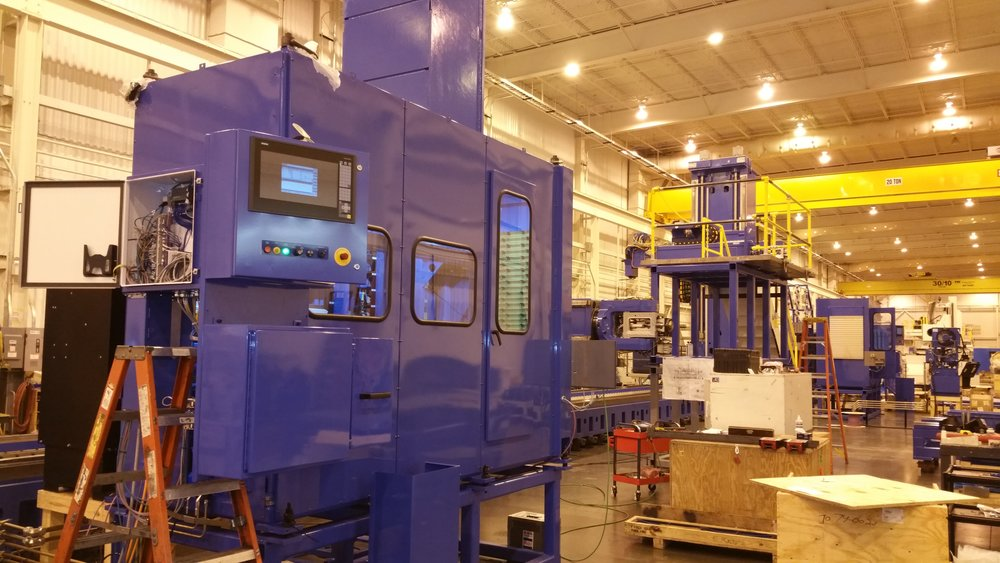 Large Industrial Machinery Custom Manufacturing Automation