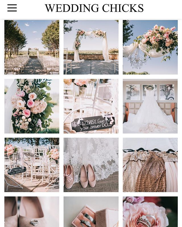 This Summer Wedding fairytale was featured on @weddingchicks today!💕 Pink + White plus a hint of Disney all over was a must for @daisykhughes! 📷: @anendlesspursuit #linkinbio #danpickeadaisy #tcweddings