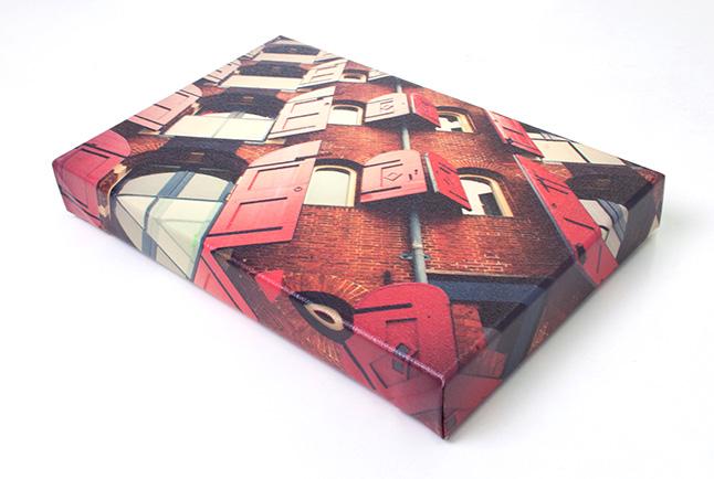 Canvas Print of Building on angle.jpg