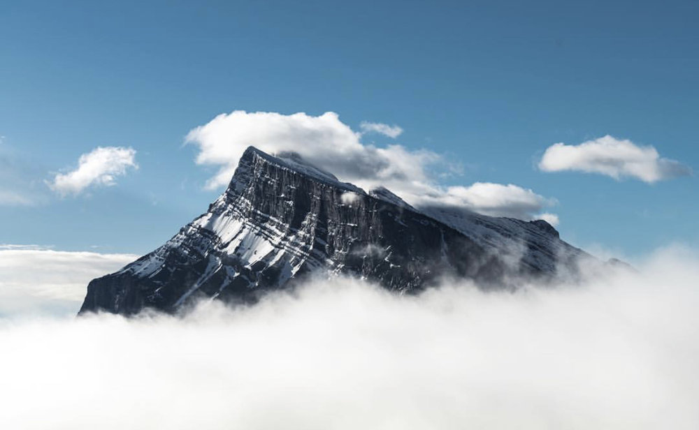Mt. Rundle, Alberta