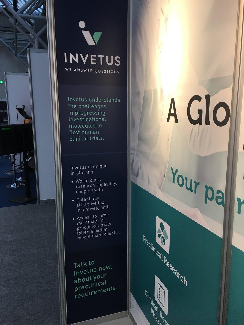 The Invetus panel, BIO-Europe 2018