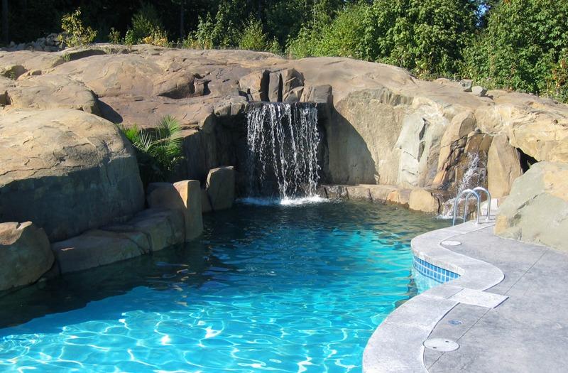 Basalt Rock in pool