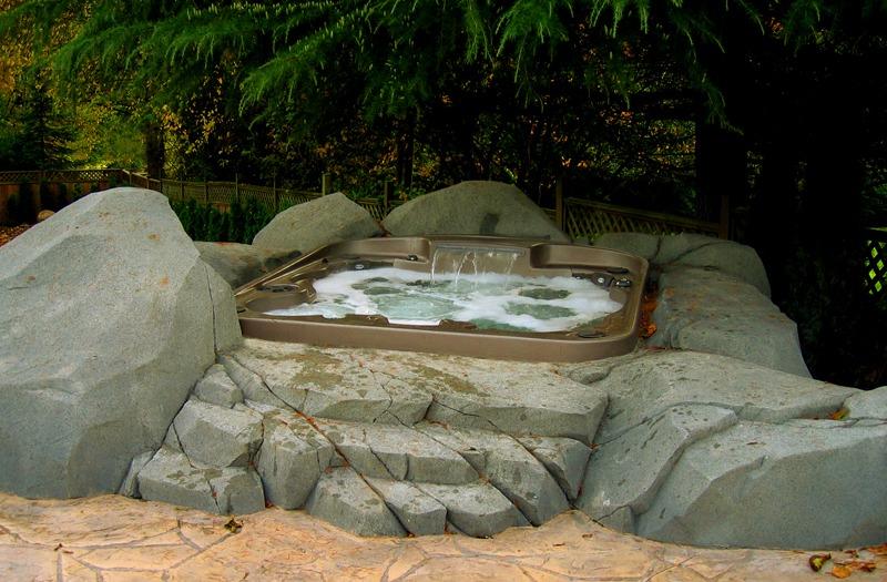 Granite spa surround