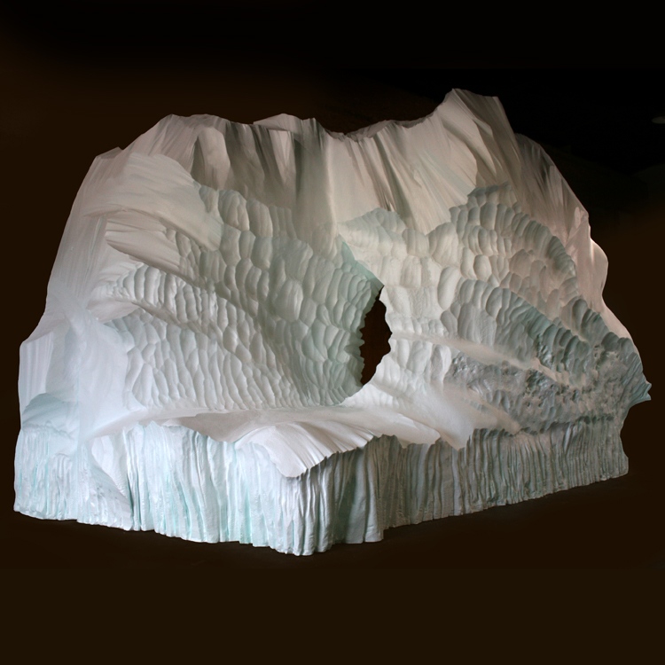 Icebergs & Snow  - Our icebergs and snow drifts can be installed indoors/outdoors in any climate zone.  Surface material choices are concrete, paint and/or resin.