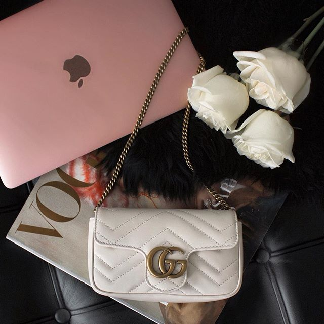 Some of our favorite bloggers are doing a massive giveaway today!! . They will be sending one of their followers a PINK MACBOOK, a white GUCCI Mini Marmont bag - which is super in this season and you can wear as a crossbody or belt! - plus the latest COACH perfume! . All you need to do is head to the account @BoutiqueLuxGifts and follow all the accounts they are following (39)! THAT'S IT!! . Ends 03/25. Lucky babe will be announced 3/27 2pm EST . So, if you have a US address, please go to @BoutiqueLuxGifts and follow my blogger babes! Thanks so much for being a part of my Insta family & showing your support. Good luck! 💋 . This contest is not associated with Instagram, Inc. Entrants 18 years of age, in the USA and agree to Instagram's terms of use. No purchase necessary.