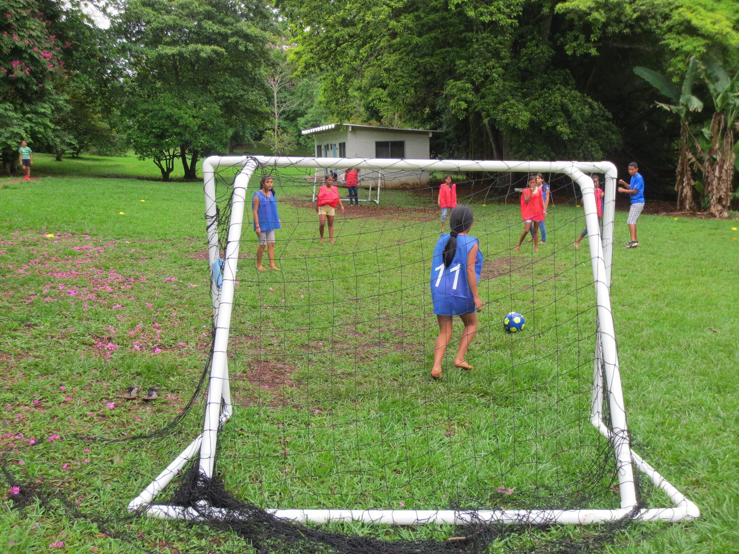 Girl's soccer event